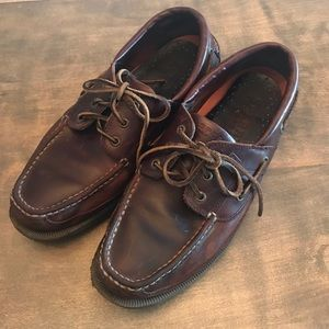 Sperry Top Sider Mens A/O Classic Brown Boat Shoes